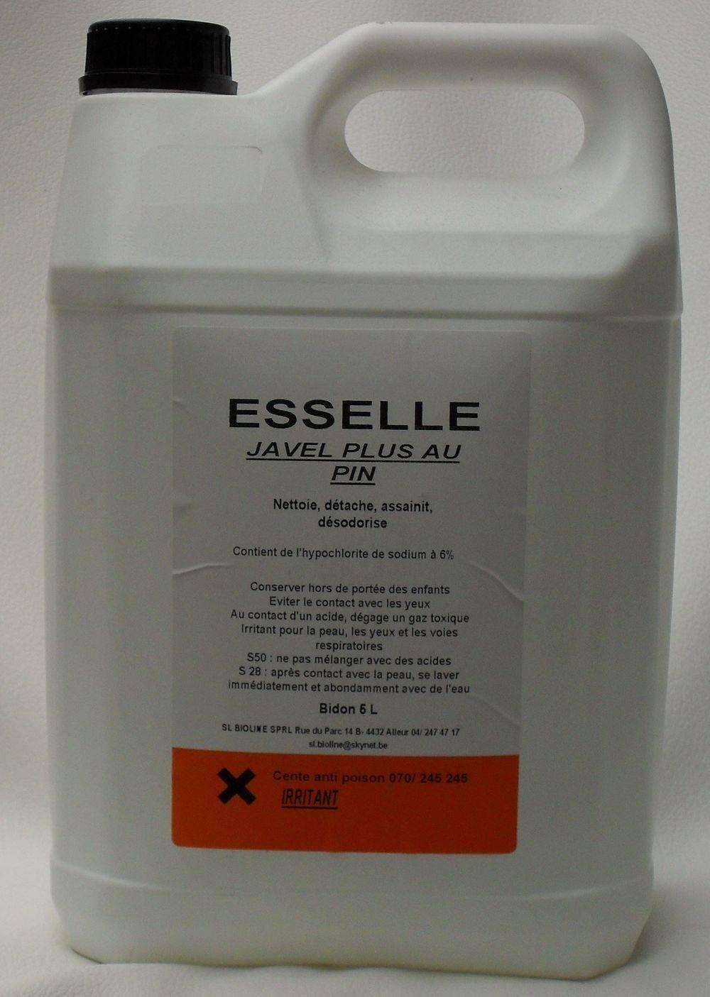 JAVEL + AU PIN 5 litres
