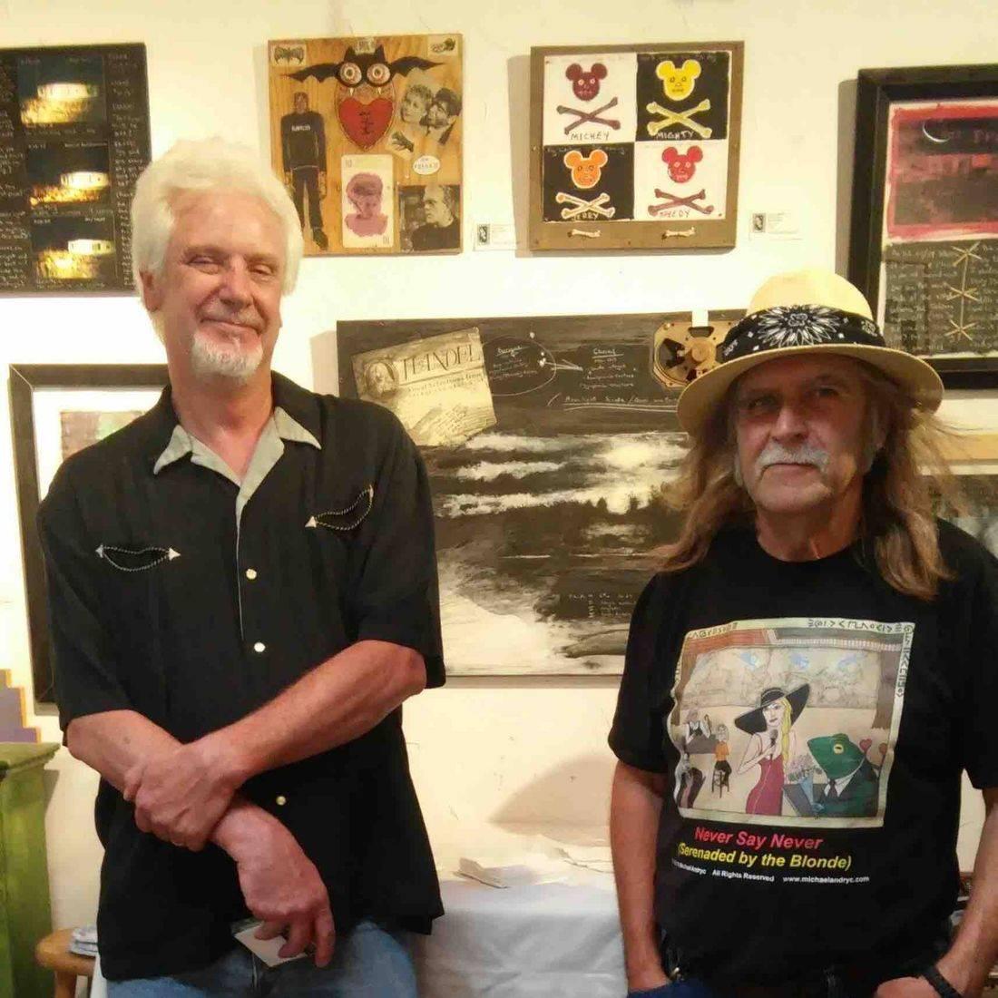 DARK 6 Exhibition, Greg Moon Art, Taos, NM, Greg Moon, Michael Andryc