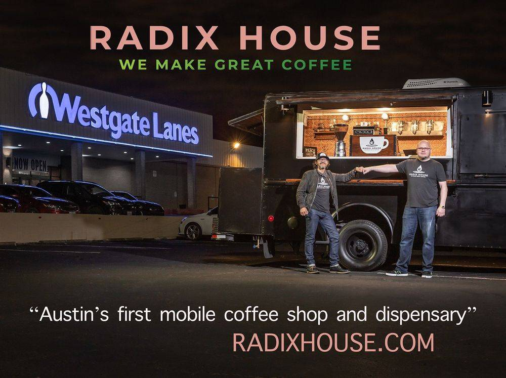 Radix House Coffee Shop - Coffee - CBD- Hemp - PTSD