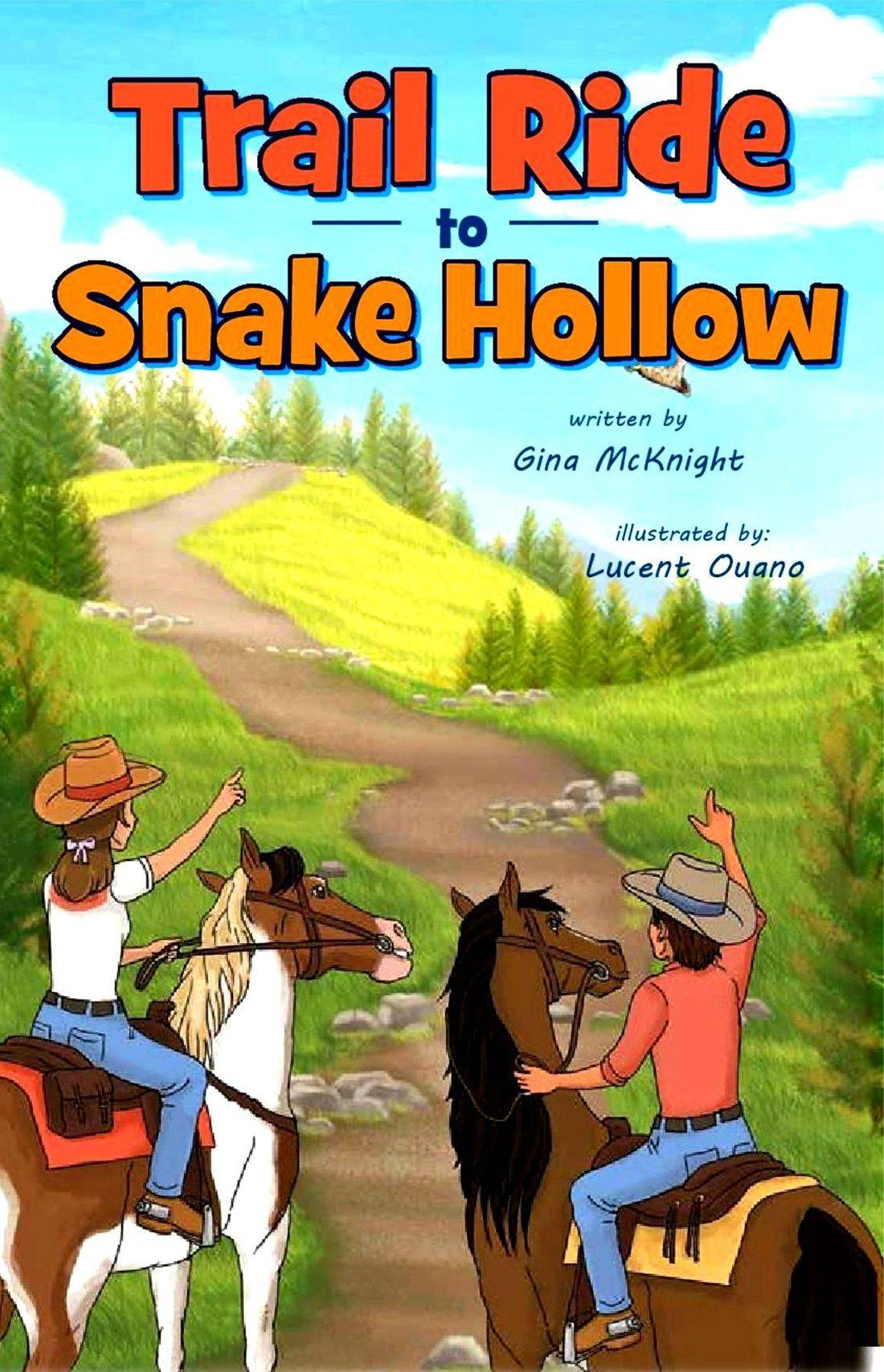 Trail Ride to Snake Hollow by Gina McKnight