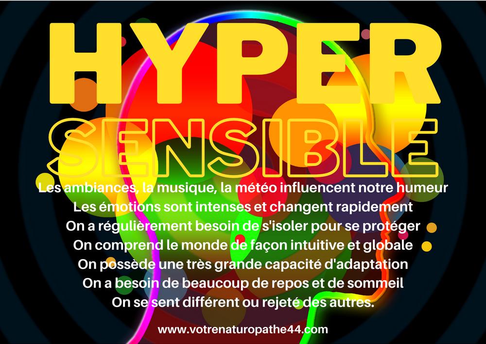 fiche pratique naturopathie hypersensibilité hypersensible émotions santé bien-être