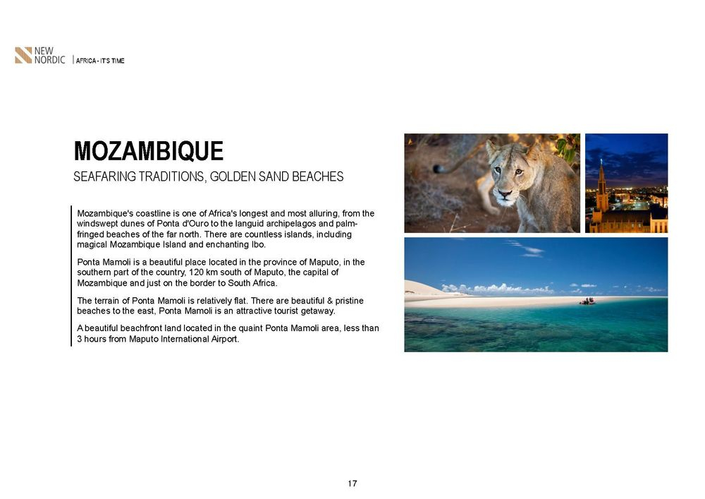 mozambique investments , uganda investments ,zimbabwe victoria falls ,malawi 5 star resort in the lake ,salima lakefront malawi, kamuzu international airport , british & far east traders & partners, new nordic africa, african investments