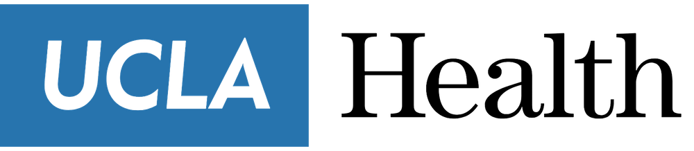 Logo with words UCLA Health