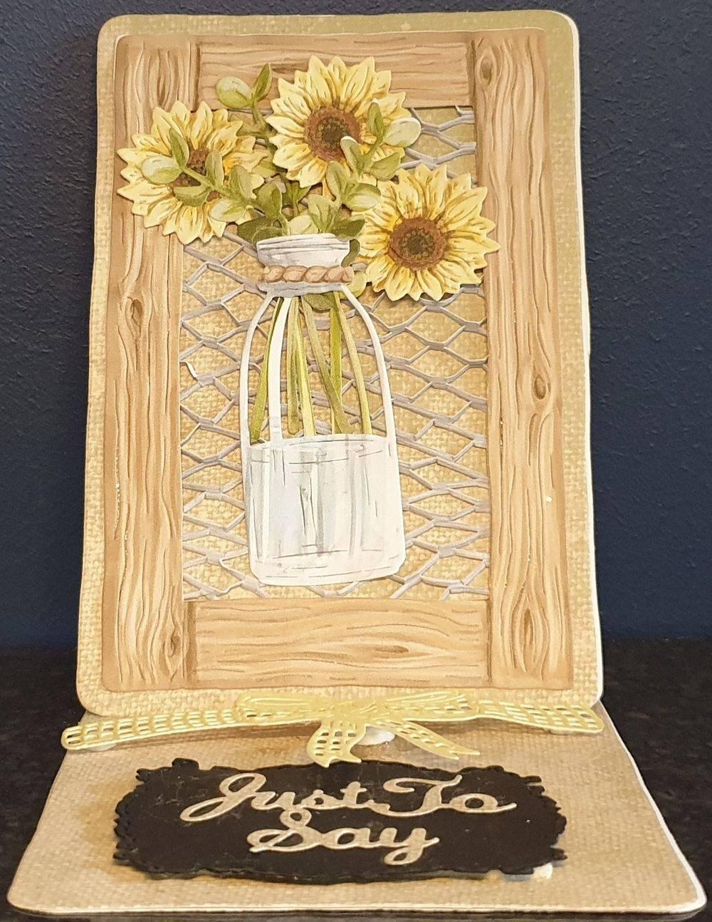 Sunflowers in a Jar