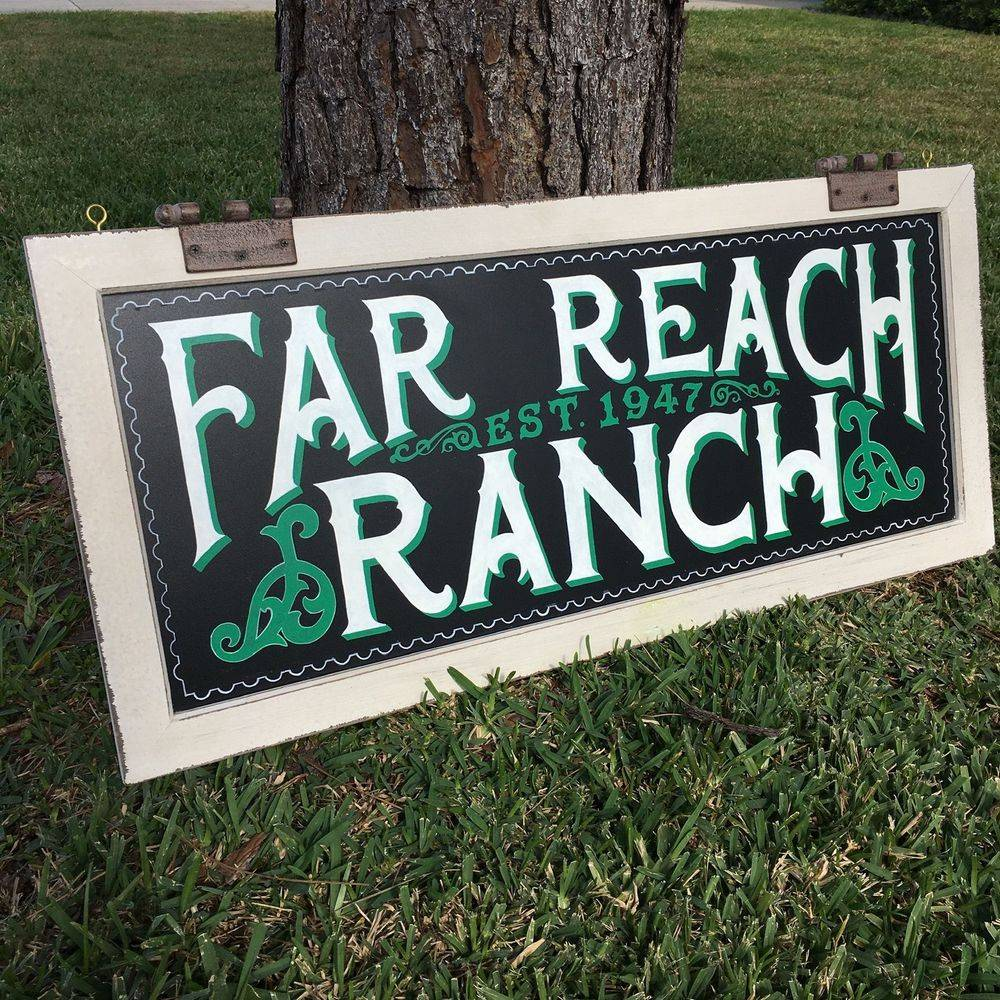 chalkboard farmhouse modern vintage lettering