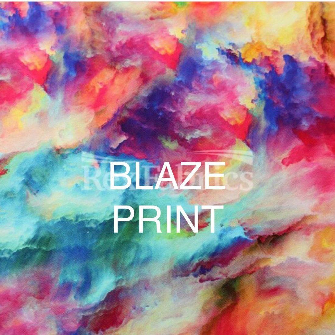 Ablaze print