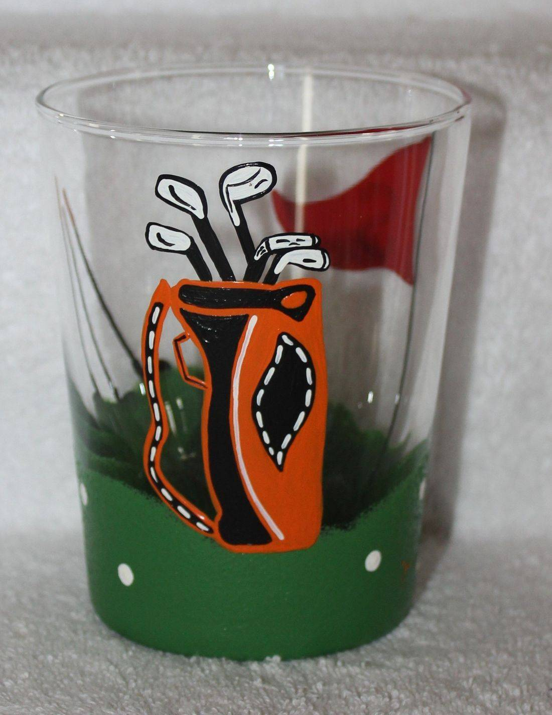 golf highball glass