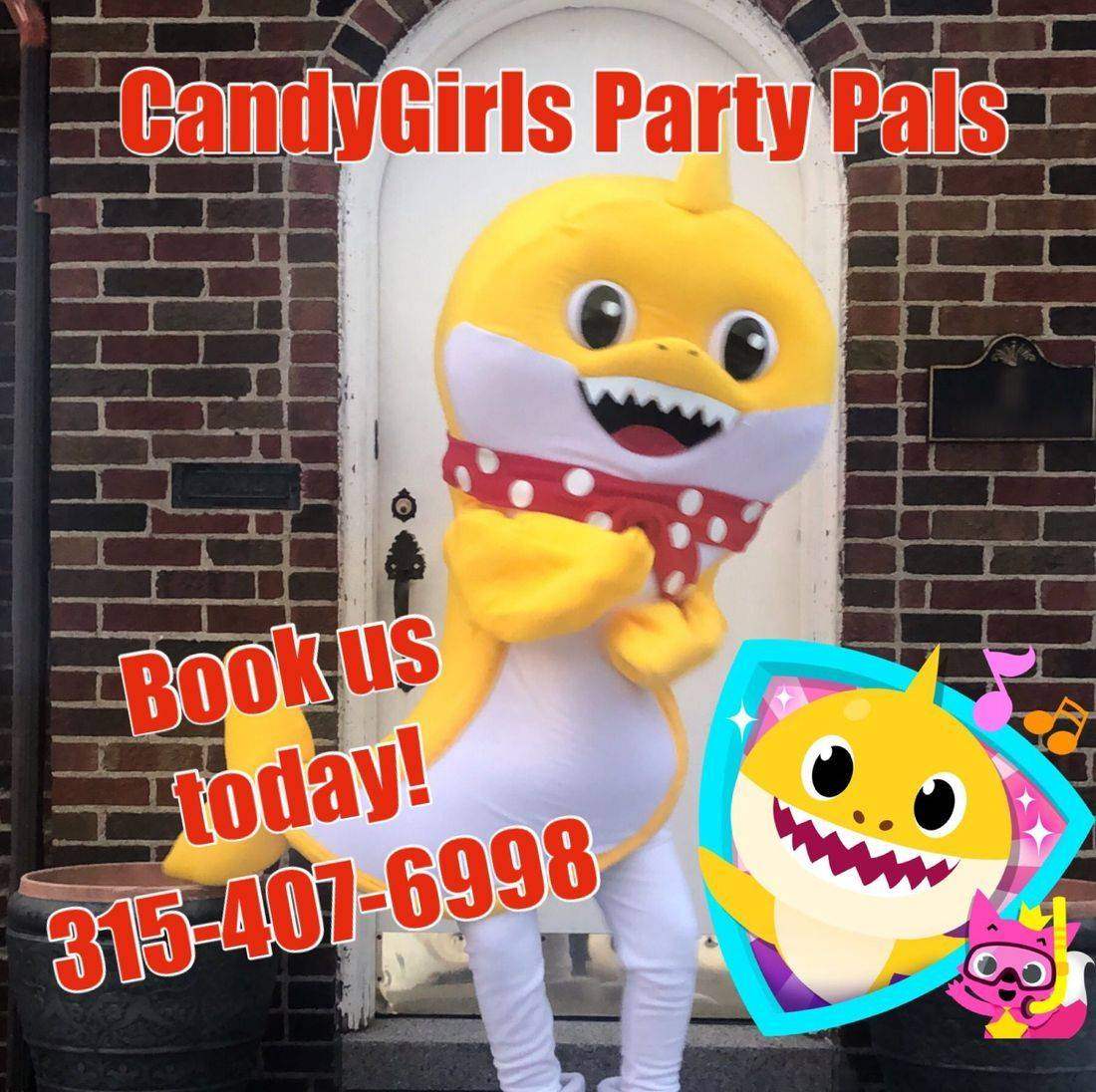Candygirls Party Pals By Audrey Mascot Rental