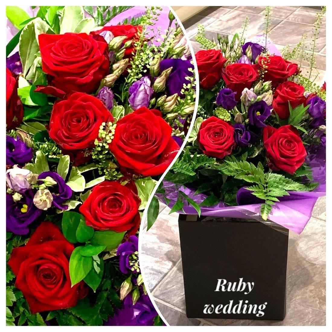 Handtie bouquet