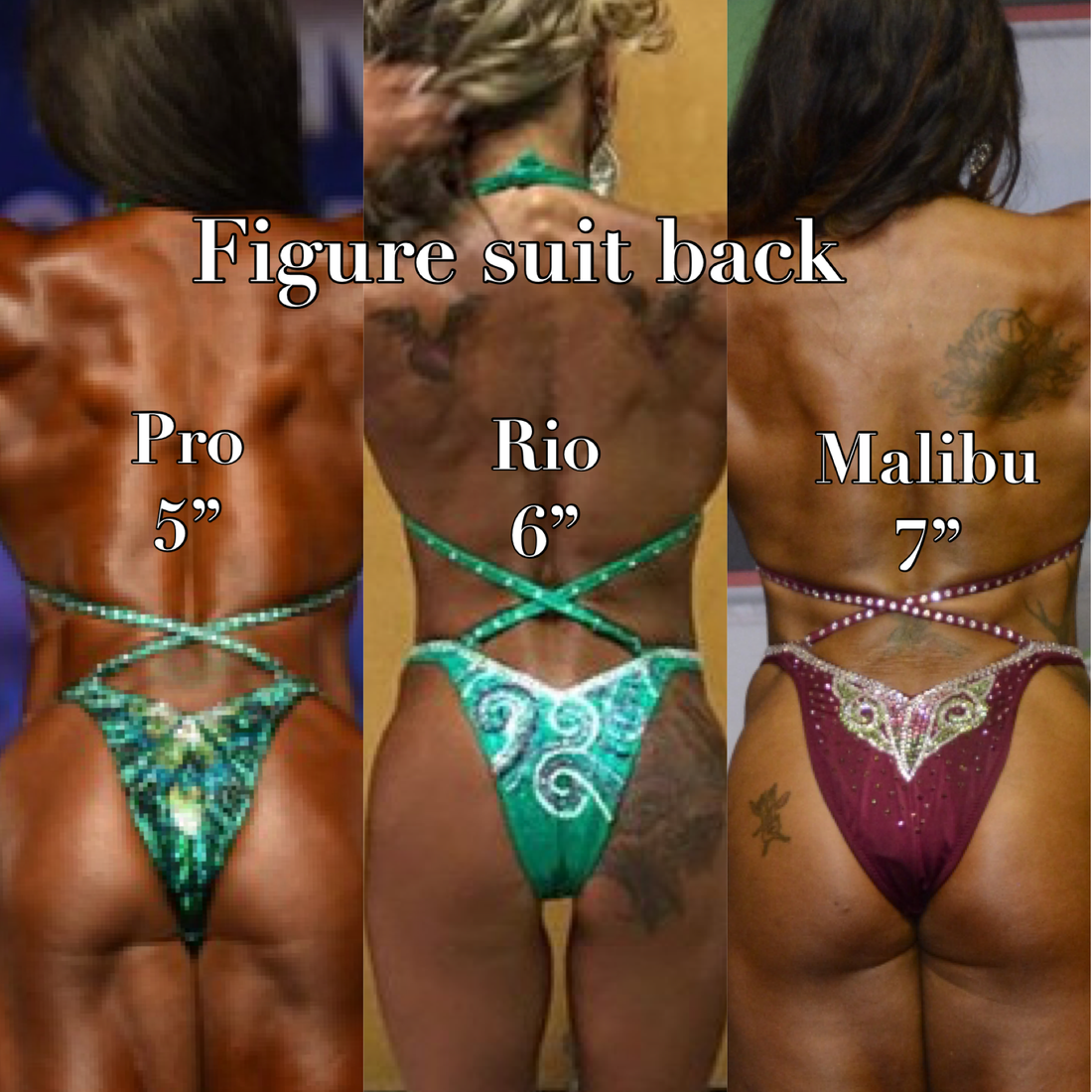 figure suit backs