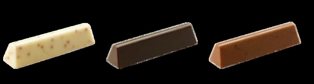 chocolade sticks voor de horeca