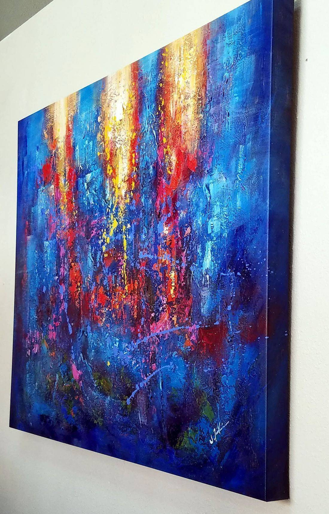 Canvas stretching, gallery wrap in st george utah