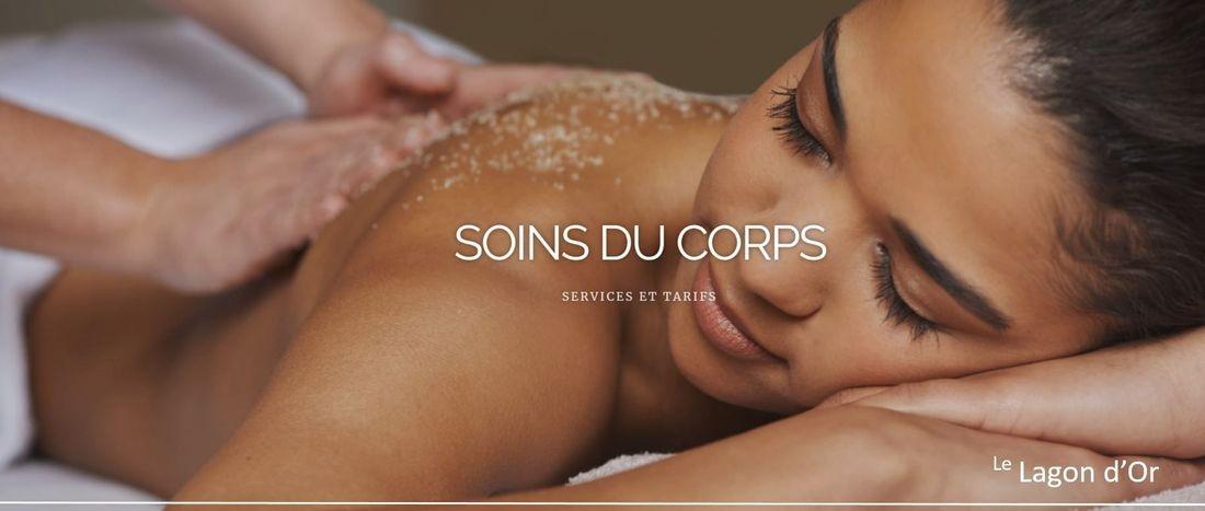 soins du corps massage dos cellulite Esthétique esthetics estheticienne  gatineau le lagon d'or lelagondor