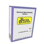 Bates Blaster Software Box