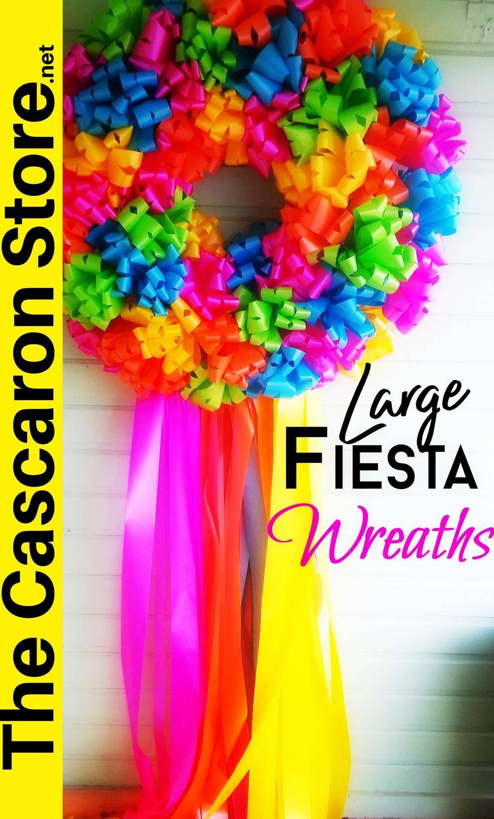 party decoration door wreath