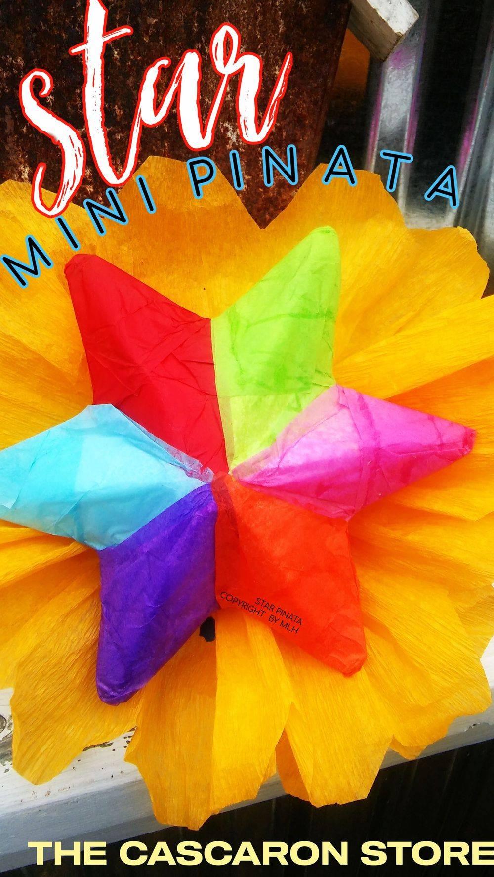 fiesta star mini pinata