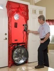 Retrotec Q46 Blower Door Air Tightness Testing System best suited to the Domestic Market, and the smaller buildings in the Commercial Market. The Air Tightness Test will detact any air leakage from the building envelpoe. Sealing these leakages will make the house more energy efficient, reduce co2 emissions and make the home more confortable.