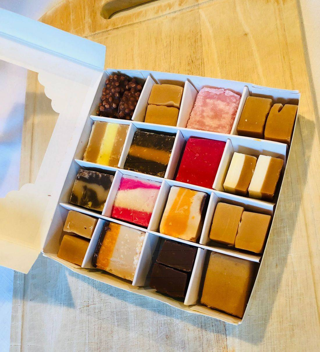 Subscription sweet gift box