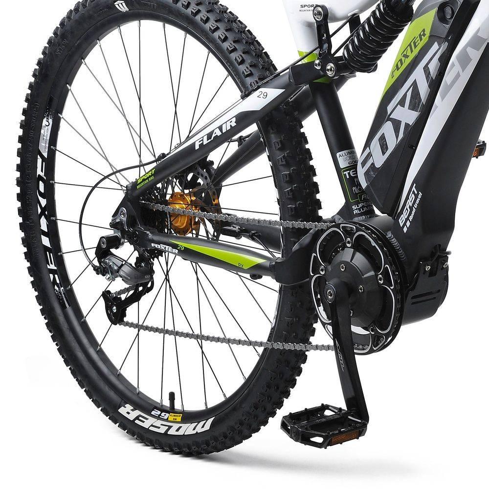 Motore centrale AQL mountain bike bici elettrica
