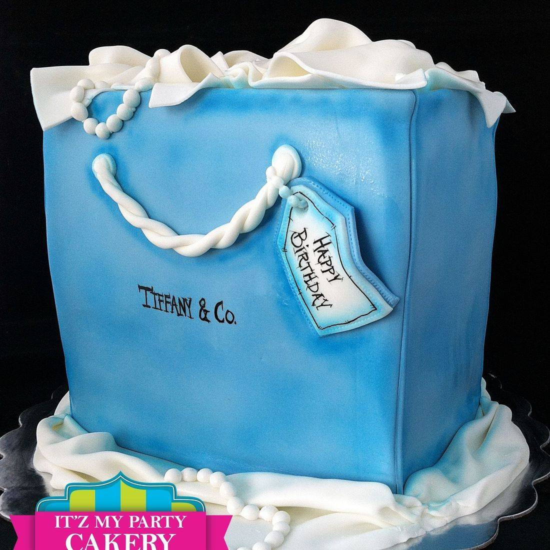 Tiffany Bag Cake Dimensional Cake Milwaukee
