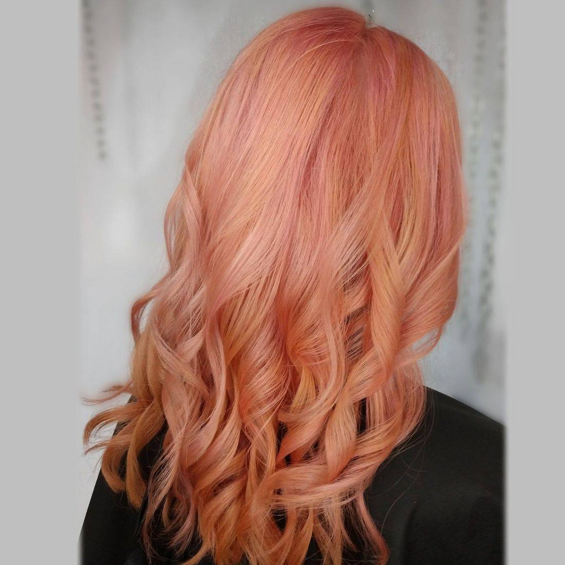 olaplex salons pastel rosegold pink punk hair charlotte colorists