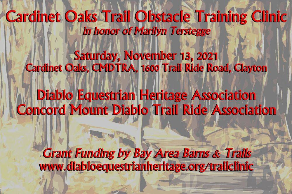 Cardinet Oaks Trail Obstacle Clinic