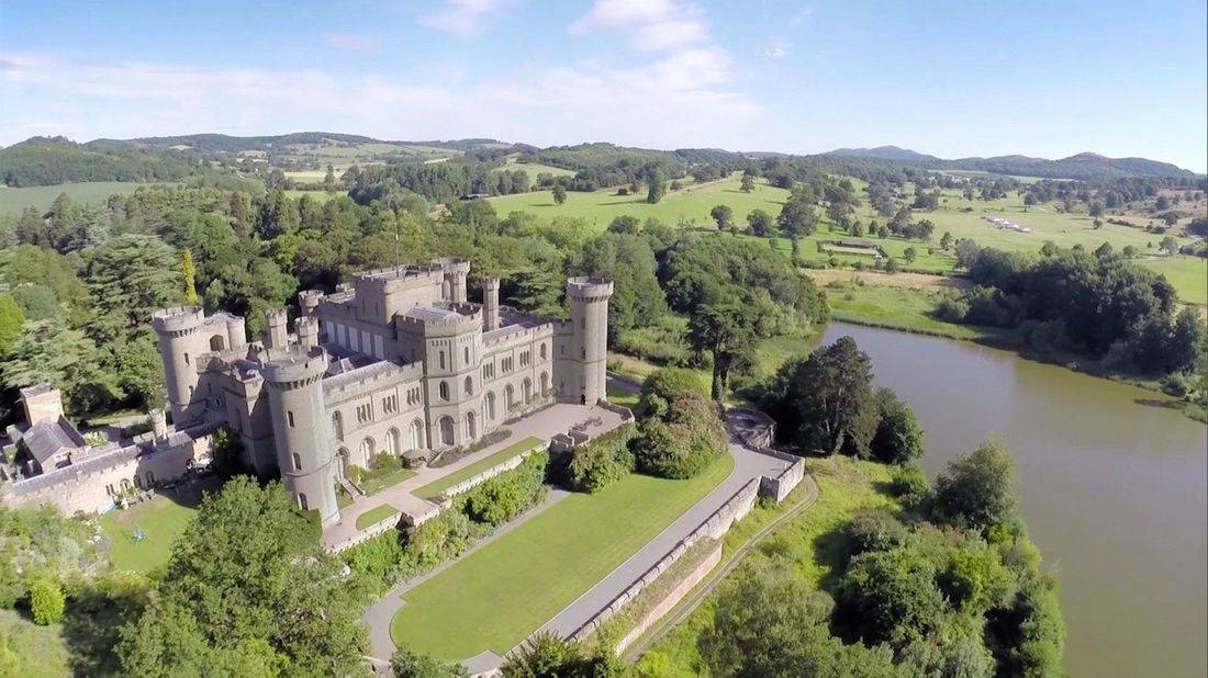 Eastnor Castle near Ledbury, Herefordshire