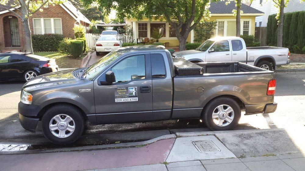 Service Vehicle, Chris Mullen, Locksmith Service Stockton CA