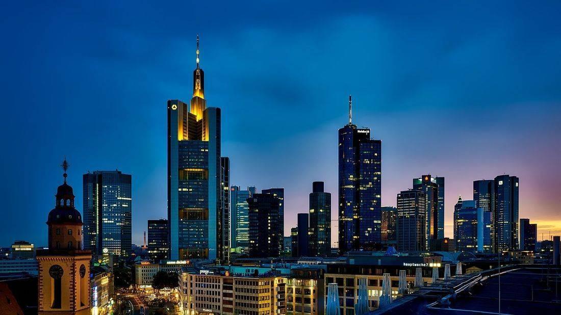 frankfurt, germany, city lights, skyline, wanderlust, inspired