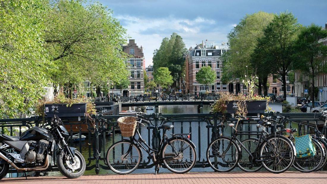 amsterdam, holland, netherlands, bike,  romantic, skyline, wanderlust, inspired
