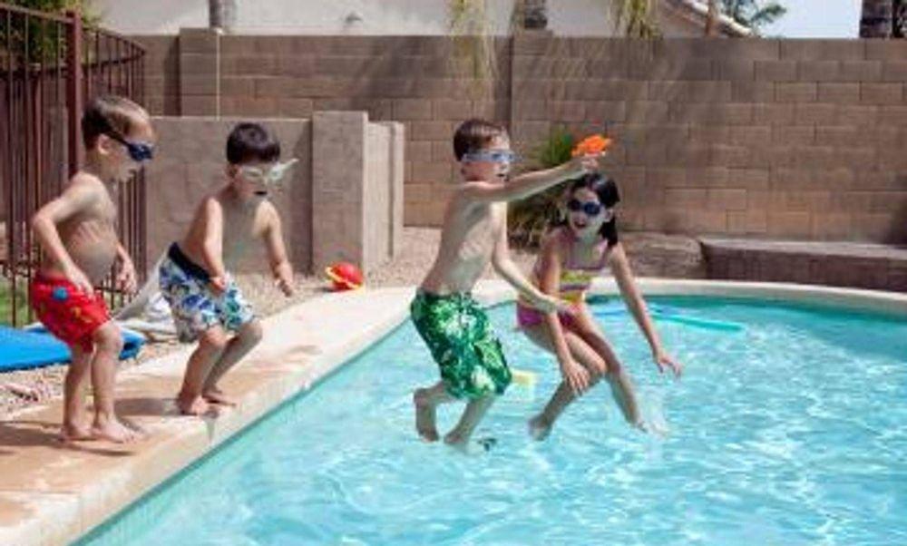 calentador para piscina de agua salada