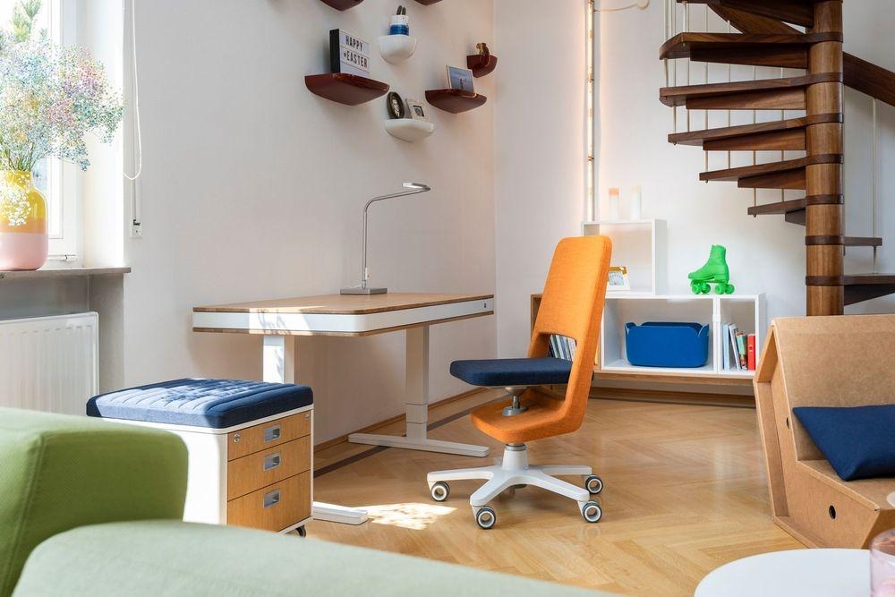 stanza lavoro-studio con scrivania Moll T7