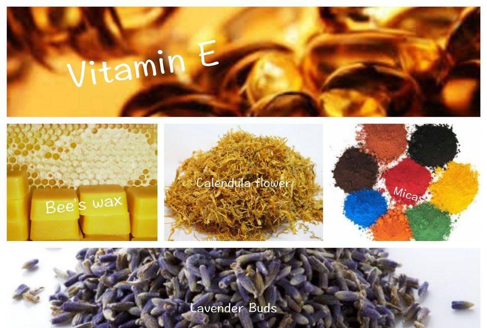 Several Natural Ingredients