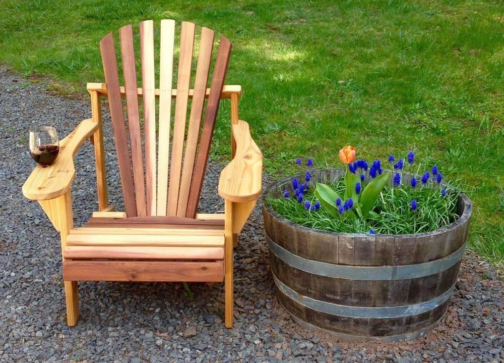 Wine Lovers Cedar Adirondack