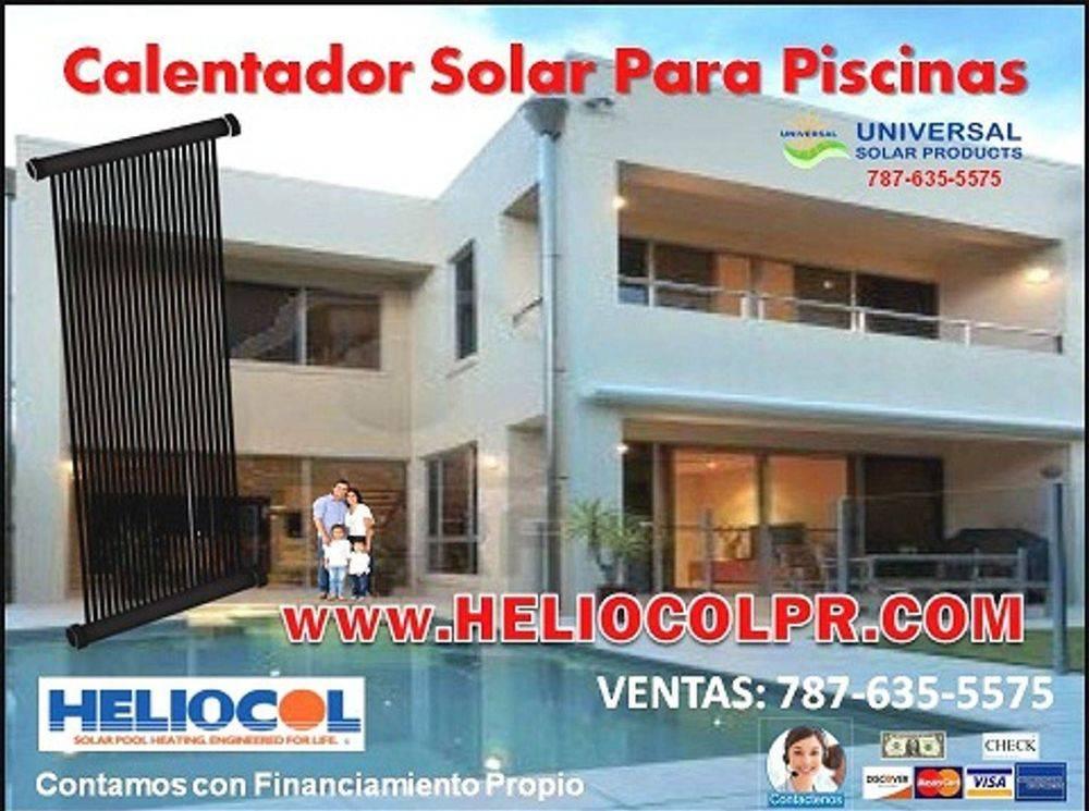 Heliocolpr.net, venta calentador para piscina en Puerto Rico.