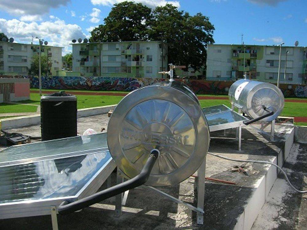 calentador solar para casas y comercios