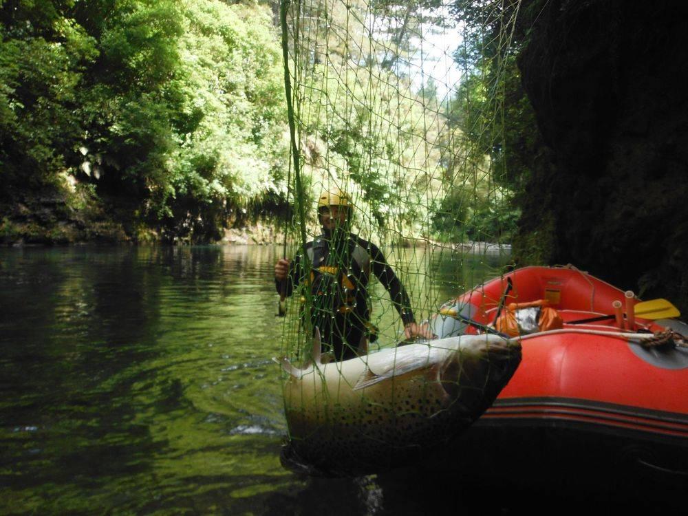 Raft Fishing and White Water Rafting options