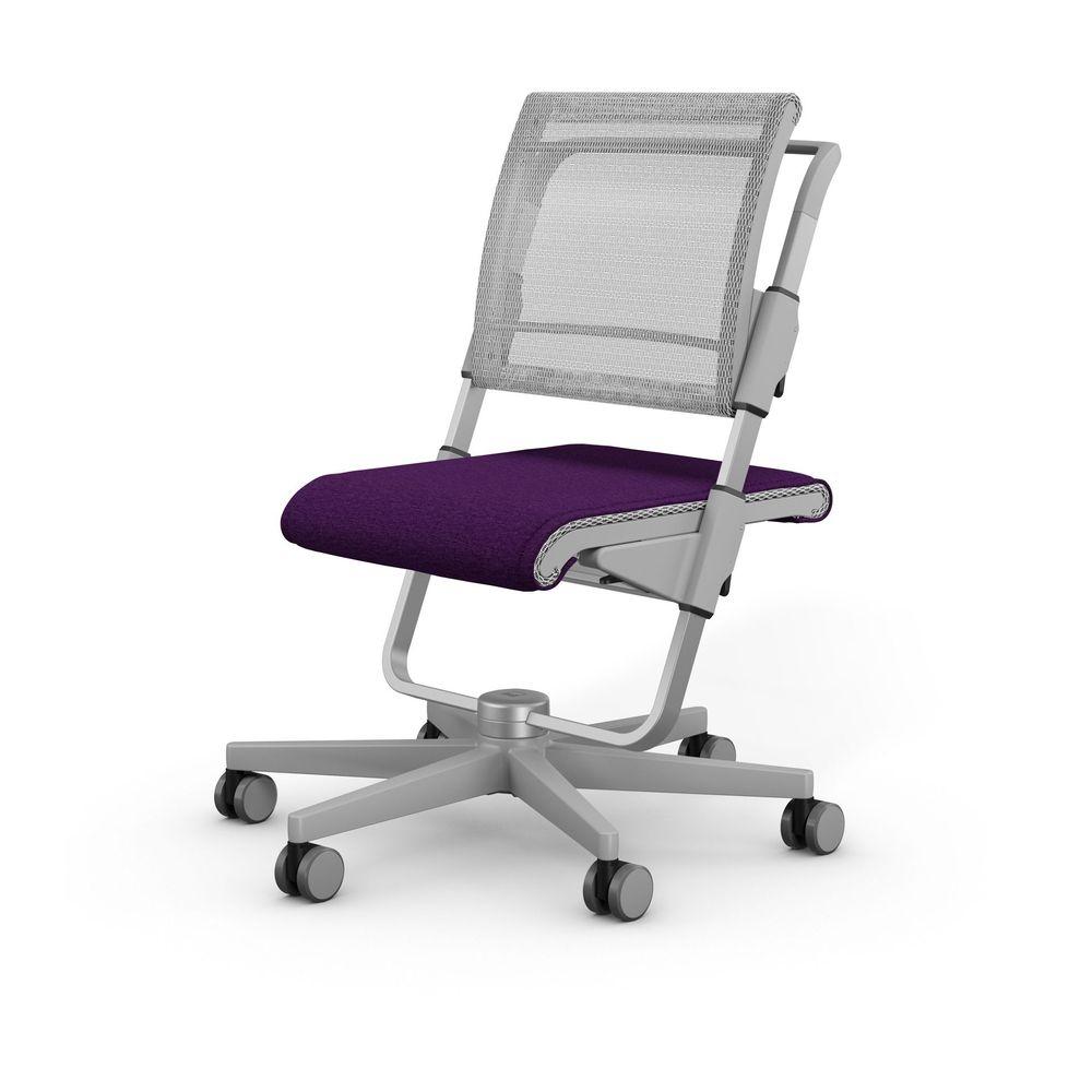 Sedia ergonomica Moll Scooter con cuscino sedile