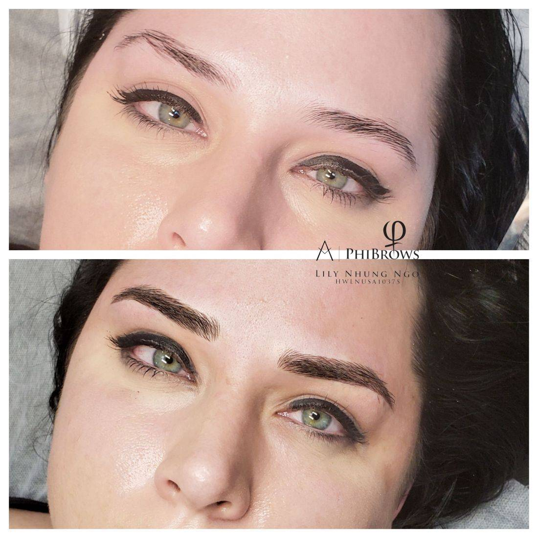 Microblade; microblading; microblading near me; tattoo; ombre