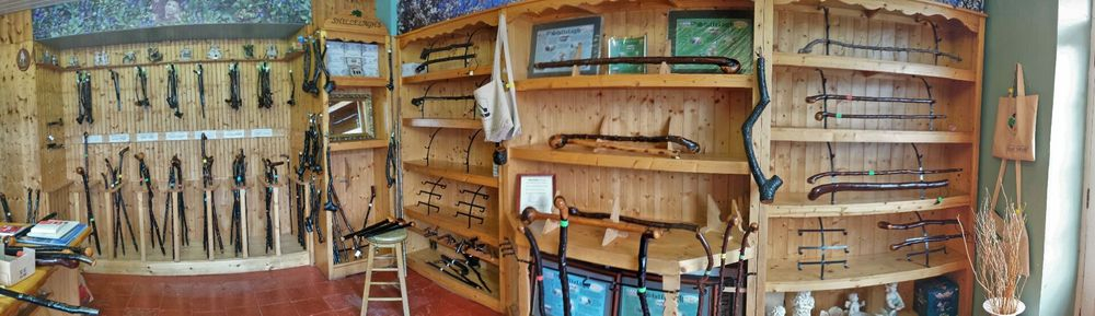 Our showroom in Shillelagh, Ireland. Come visit us and learn about the history and heritage behind our sticks.