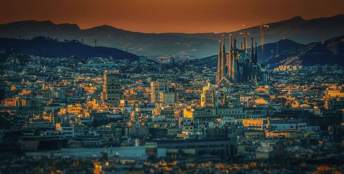 barcelona, spain,  romantic, skyline, wanderlust, inspired