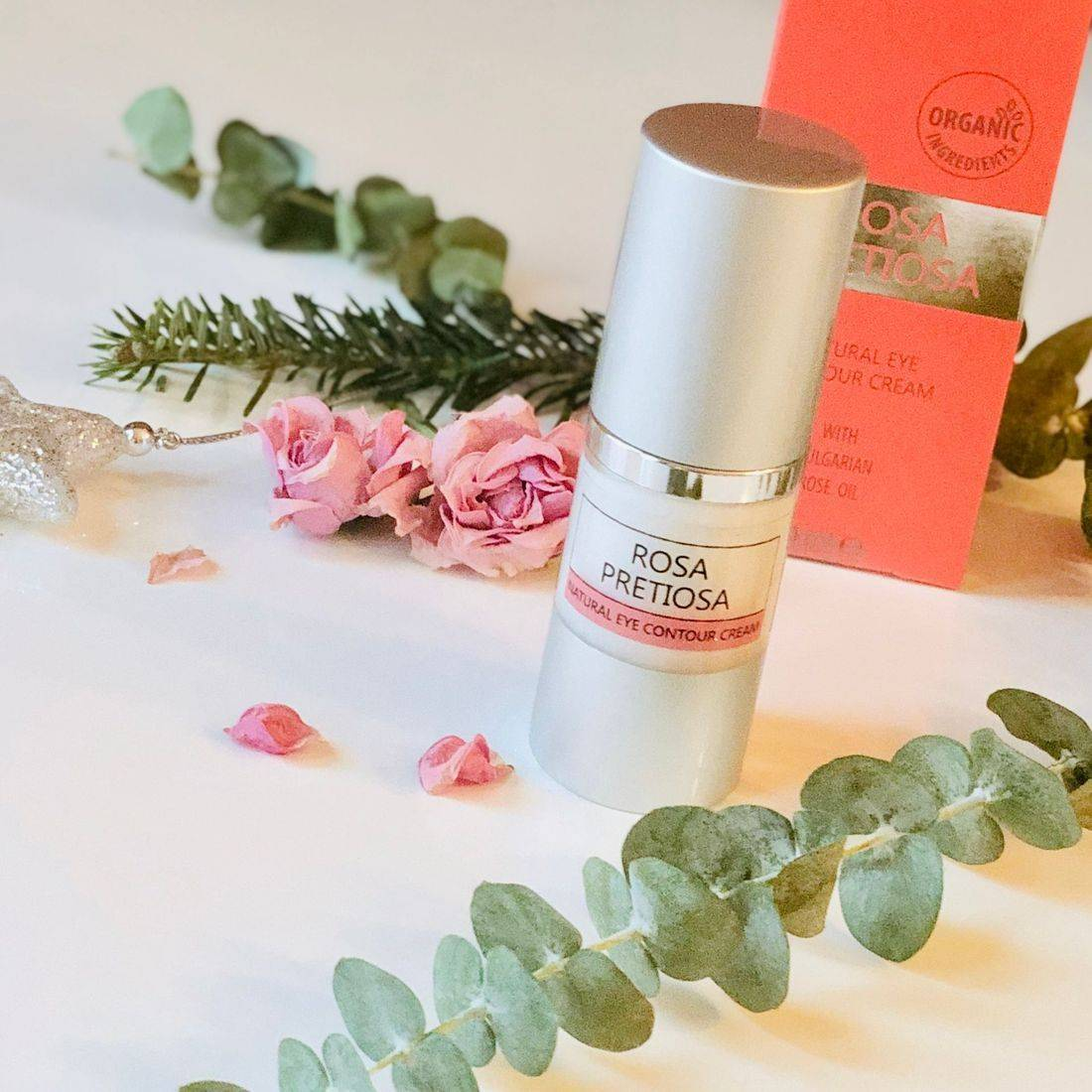 rose eye cream, rosa pretiosa skincare, organic skincare, best rose-infused beauty, rose water