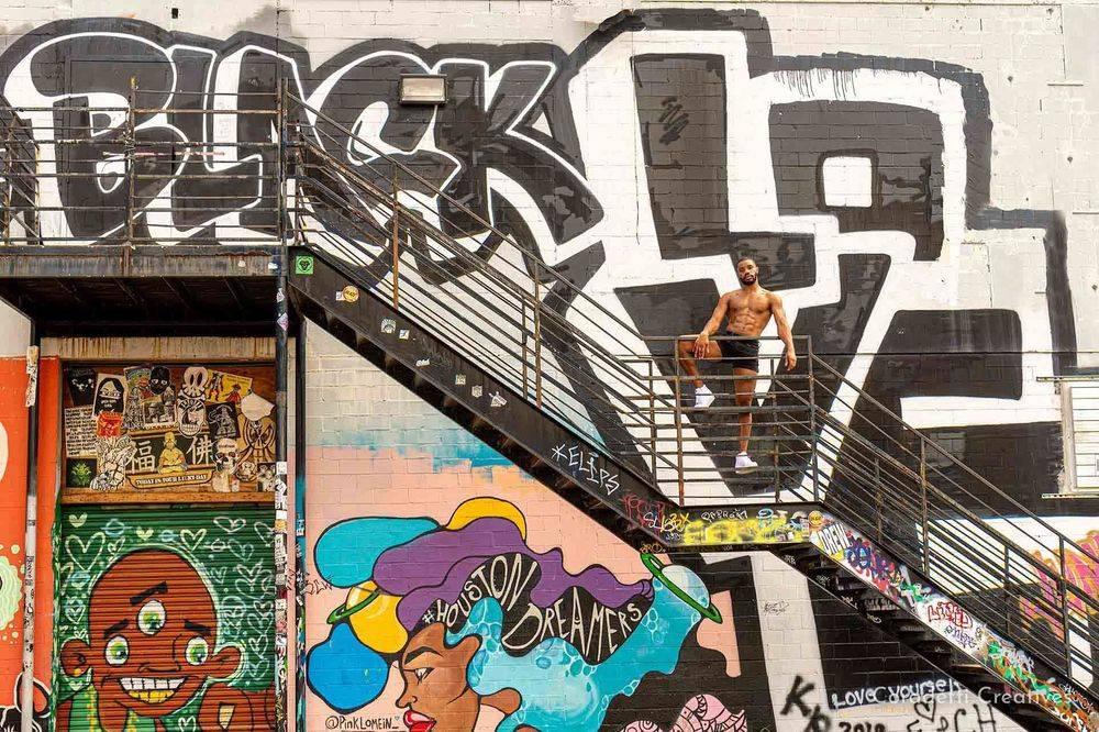 Coradetti Creatives - Scene Photography - Kendrick Morris - Houston  - Texas - Graffiti Park