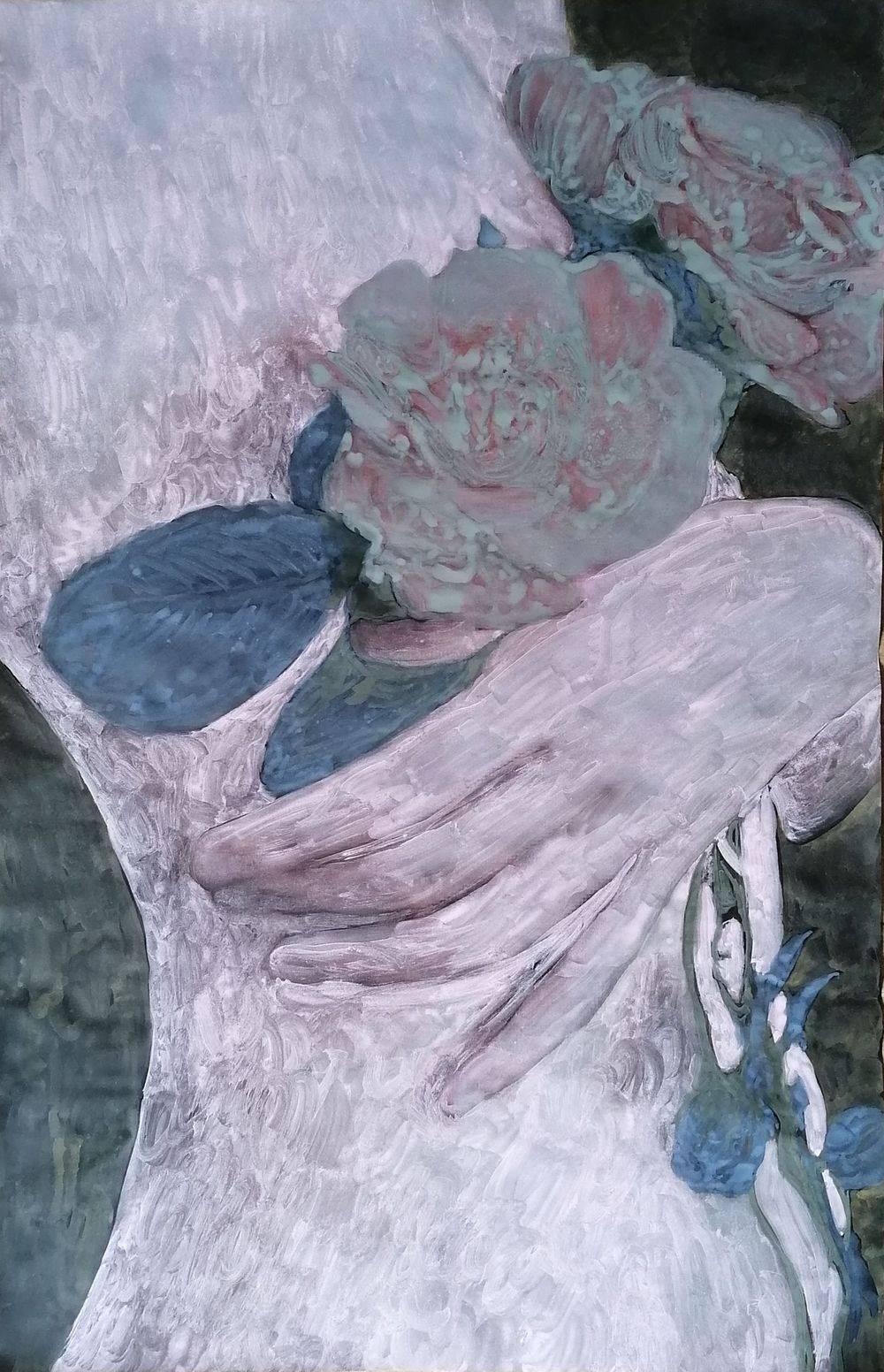Aquarelle, Femme, Portrait, Histoire de l'art