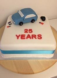 25 years cake