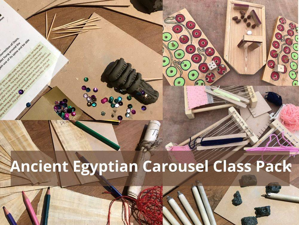 Carousel Pack Resources for Ancient Egyptians Primary School KS2