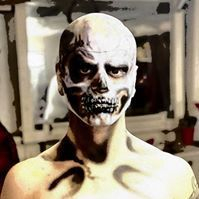 uniontown, Pennsylvania, make up, effects, halloween, party, airbrush