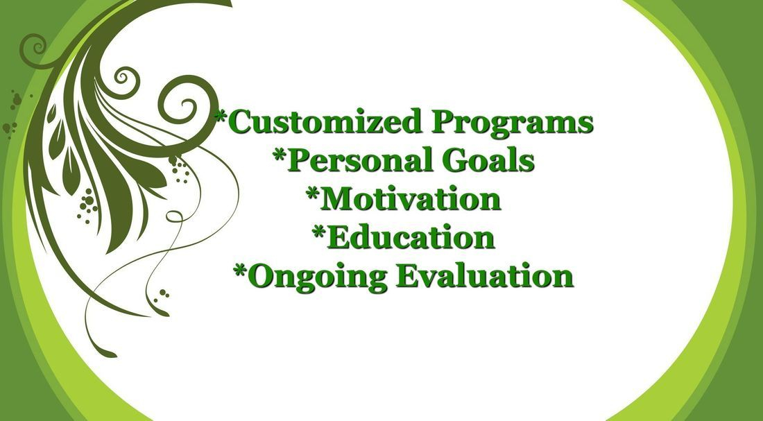 customized health programs, education, evaluations