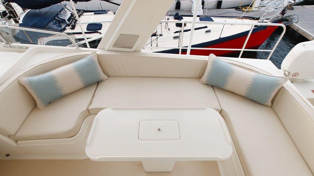 Newport Yacht Interiors, Flemming yachts, custom cushions