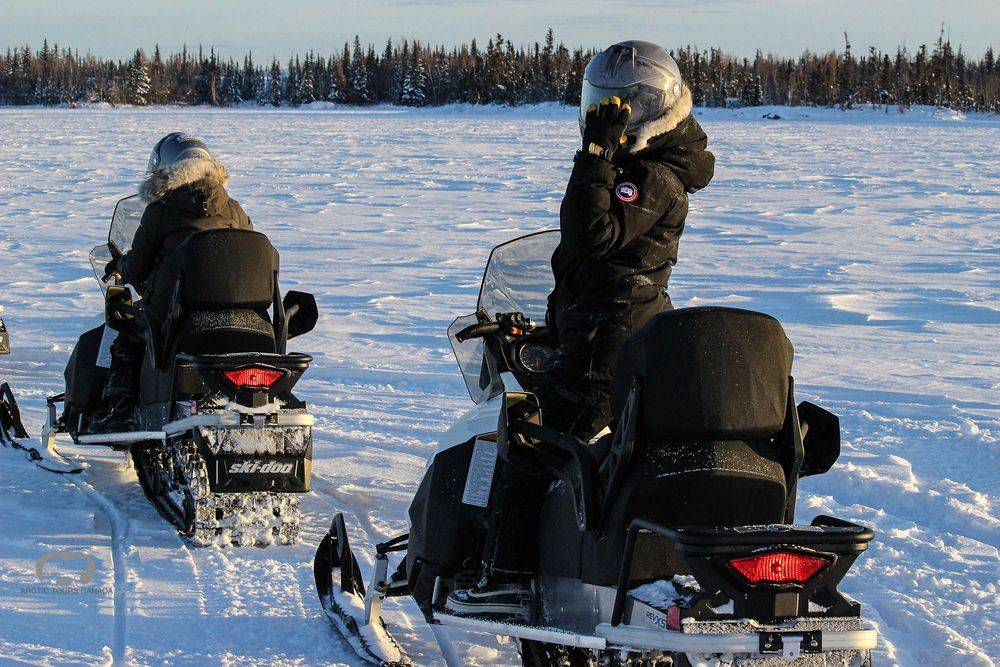 Staycation Snowmobile Tour
